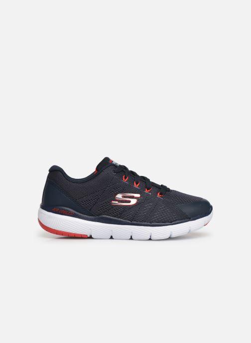 Chaussures de sport Skechers Flex Advantage 3.0 Bleu vue derrière