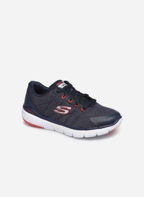 Sportssko Skechers Flex Advantage 3.0 Blå detaljeret billede af skoene
