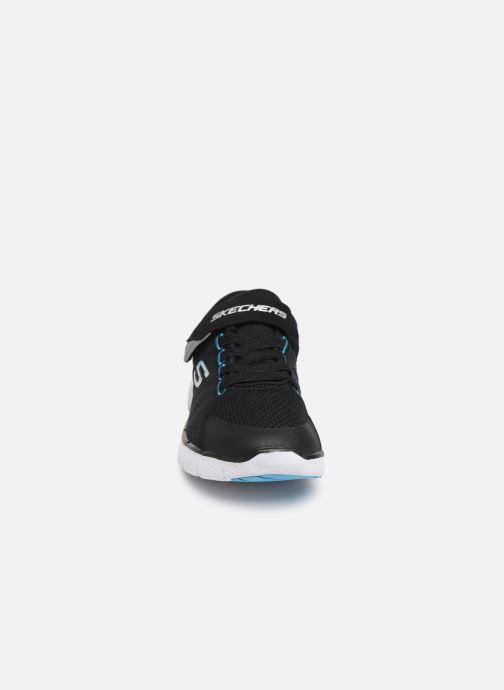 Chaussures de sport Skechers Flex Advantage 3.0 Noir vue portées chaussures