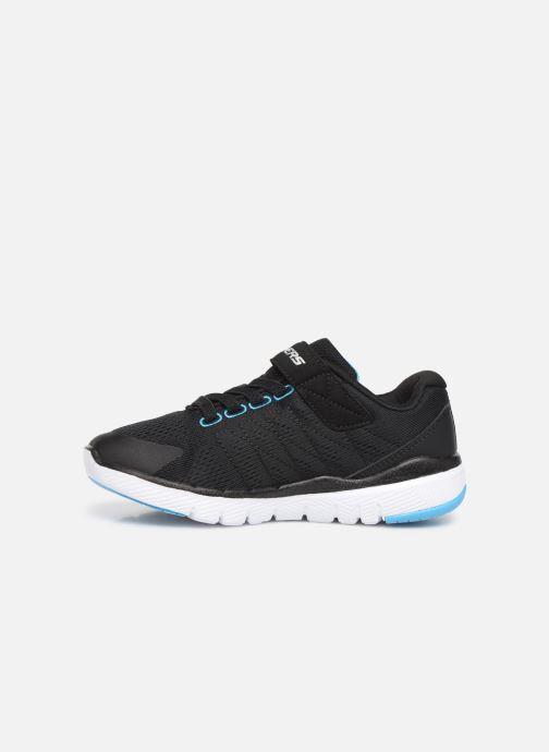 Chaussures de sport Skechers Flex Advantage 3.0 Noir vue face