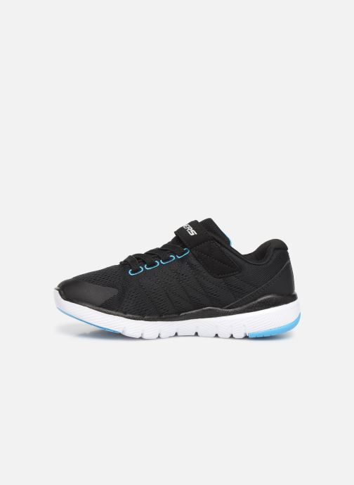 Sportssko Skechers Flex Advantage 3.0 Sort se forfra