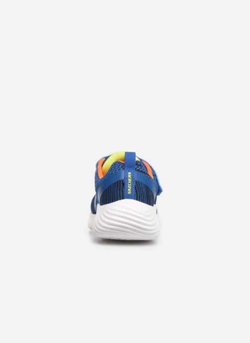 Scarpe sportive Skechers Bounder K Azzurro immagine destra