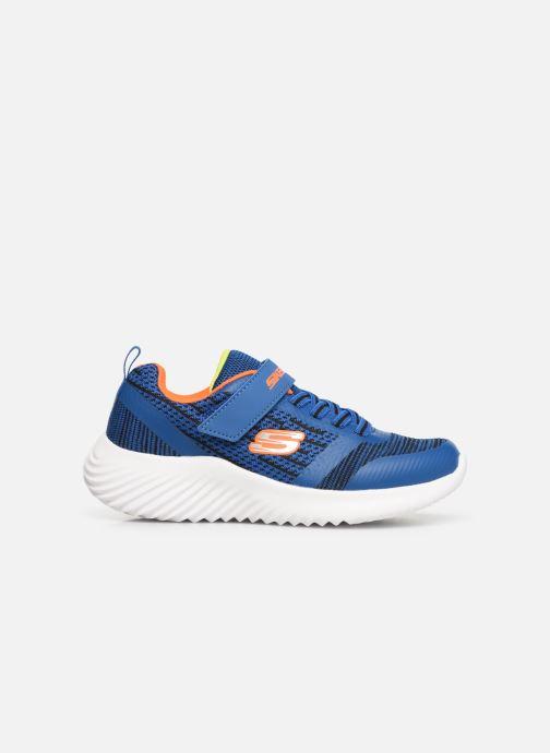 Chaussures de sport Skechers Bounder K Bleu vue derrière