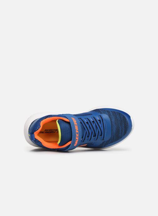 Chaussures de sport Skechers Bounder K Bleu vue gauche