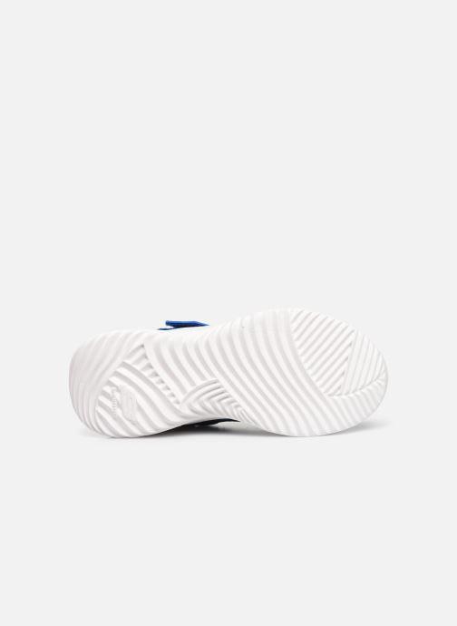 Chaussures de sport Skechers Bounder K Bleu vue haut