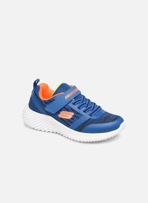 Sportssko Skechers Bounder K Blå detaljeret billede af skoene