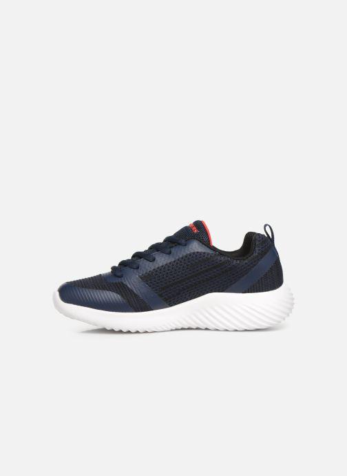 Chaussures de sport Skechers Bounder K Bleu vue face