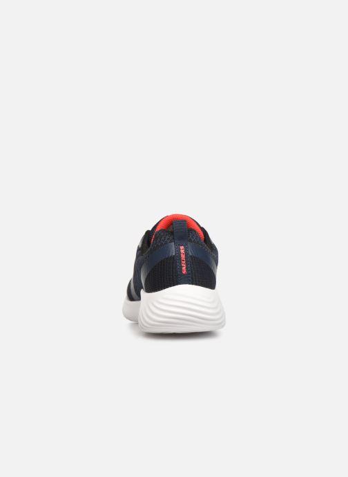 Chaussures de sport Skechers Bounder K Bleu vue droite