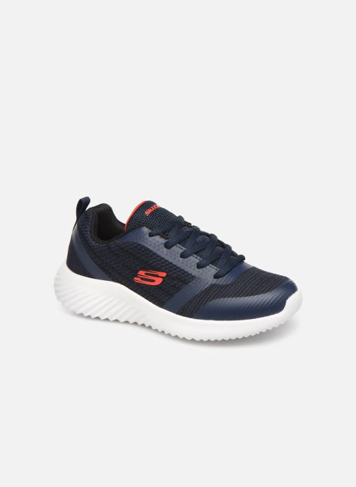 Chaussures de sport Skechers Bounder K Bleu vue détail/paire