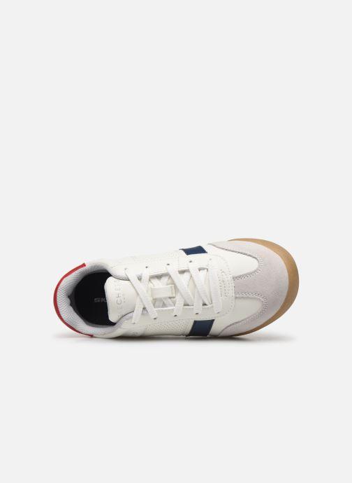 Sneaker Skechers Zingers K weiß ansicht von links