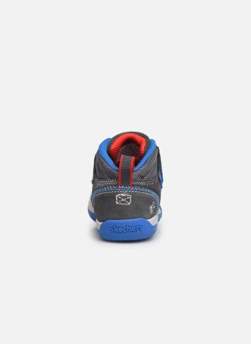 Baskets Skechers Flex Play Gris vue droite