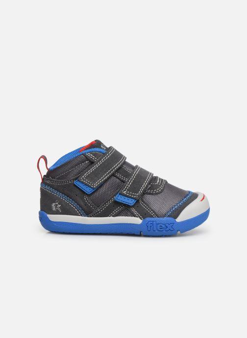 Baskets Skechers Flex Play Gris vue derrière