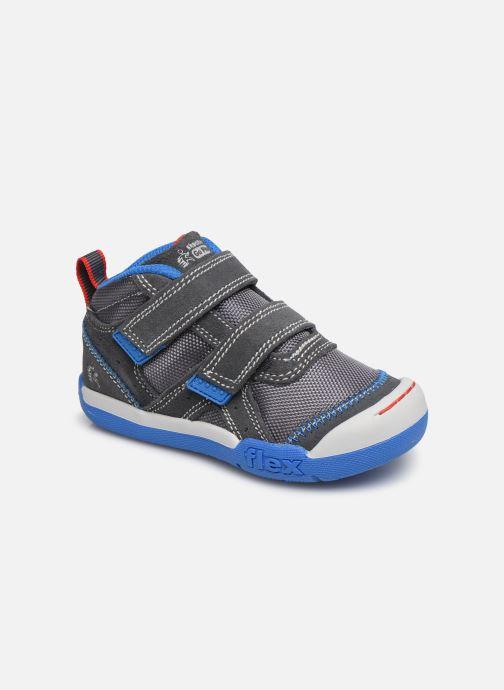 Baskets Skechers Flex Play Gris vue détail/paire