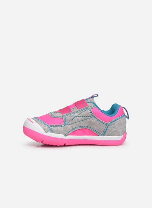 Trainers Skechers Flex Play Pink front view