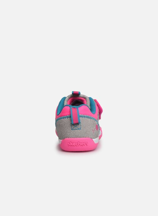 Trainers Skechers Flex Play Pink view from the right