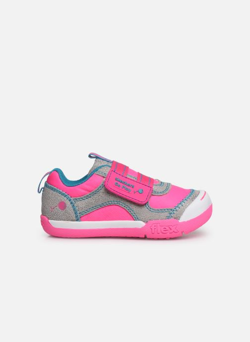 Trainers Skechers Flex Play Pink back view
