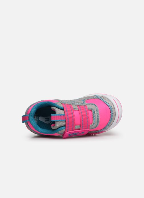 Trainers Skechers Flex Play Pink view from the left
