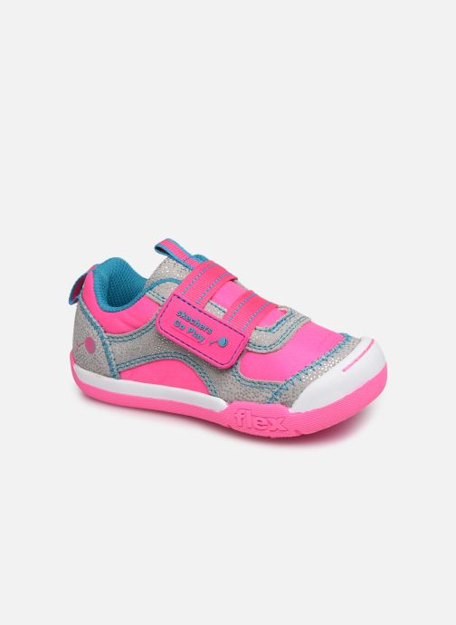 Trainers Skechers Flex Play Pink detailed view/ Pair view
