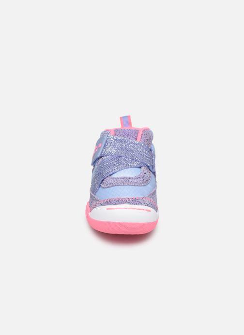 Baskets Skechers Flex Play-Early Violet vue portées chaussures