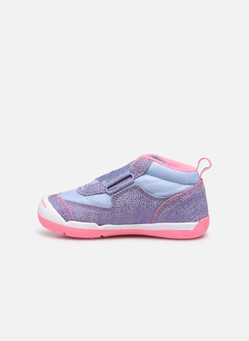 Baskets Skechers Flex Play-Early Violet vue face