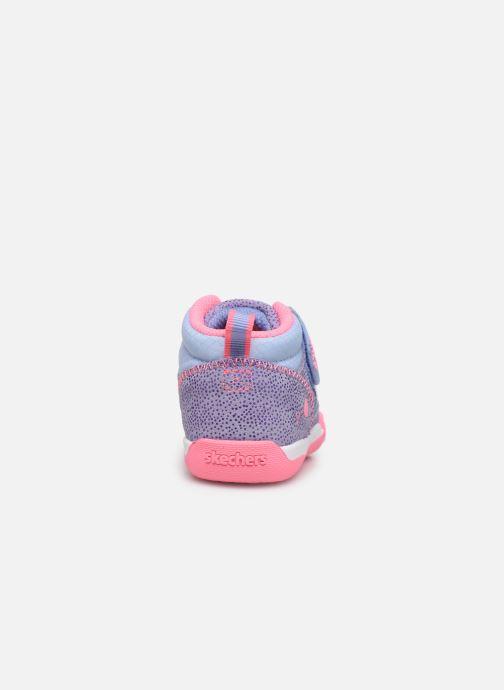 Sneaker Skechers Flex Play-Early lila ansicht von rechts