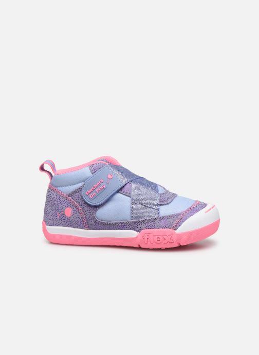 Sneaker Skechers Flex Play-Early lila ansicht von hinten
