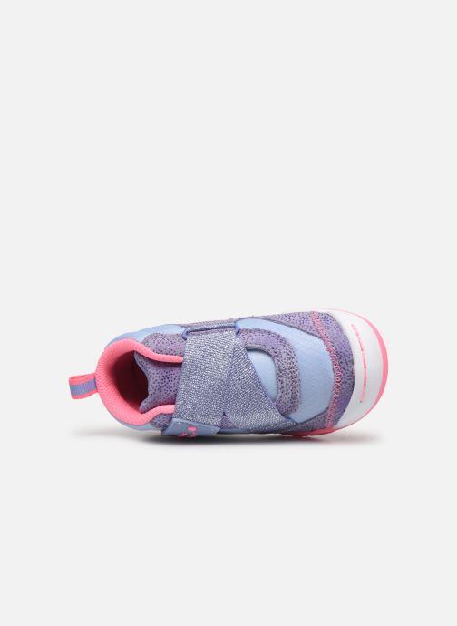 Sneaker Skechers Flex Play-Early lila ansicht von links