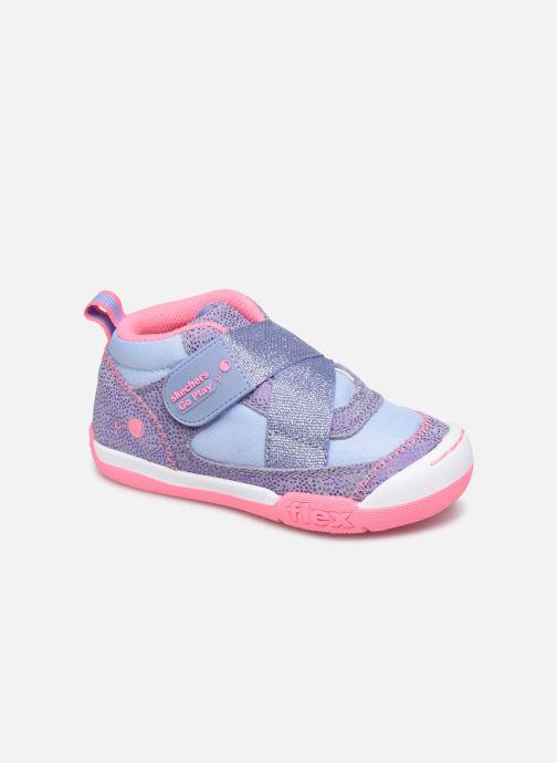 Baskets Skechers Flex Play-Early Violet vue détail/paire