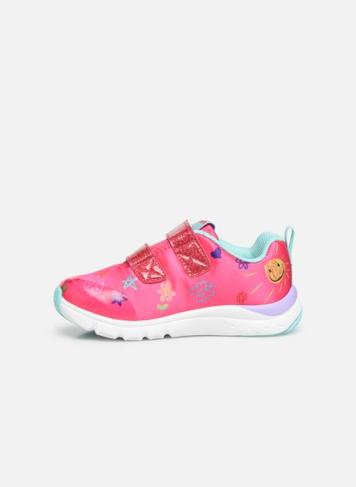 Trainers Skechers Jump Lites Pink front view