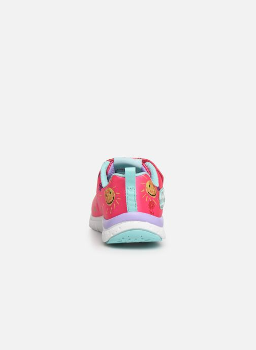 Trainers Skechers Jump Lites Pink view from the right