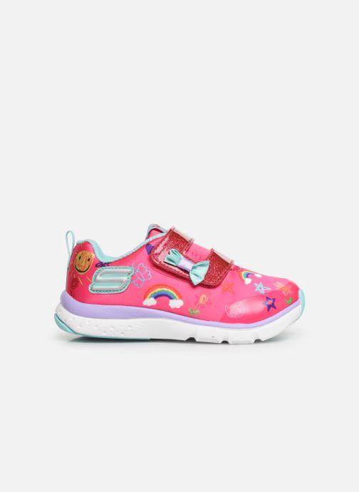 Sneakers Skechers Jump Lites Roze achterkant