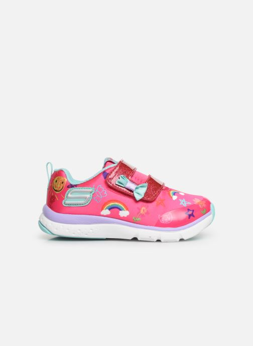 Trainers Skechers Jump Lites Pink back view