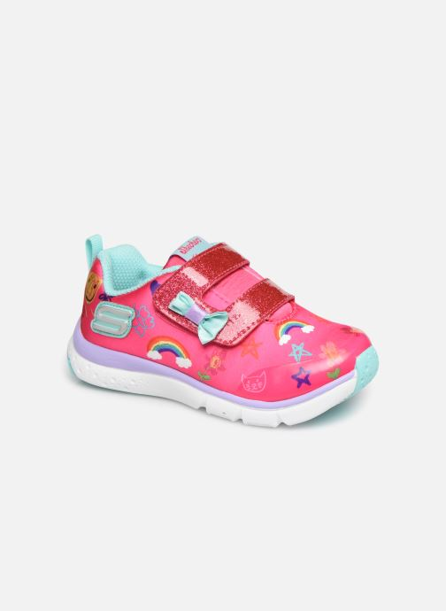 Trainers Skechers Jump Lites Pink detailed view/ Pair view