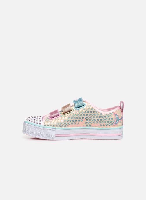 Sneakers Skechers Twinkle Lite Mermaid Magic Multicolor voorkant