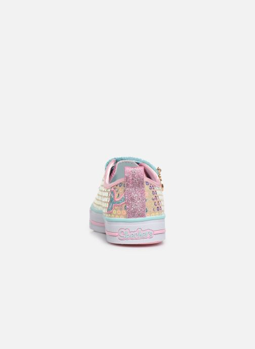 Baskets Skechers Twinkle Lite Mermaid Magic Multicolore vue droite
