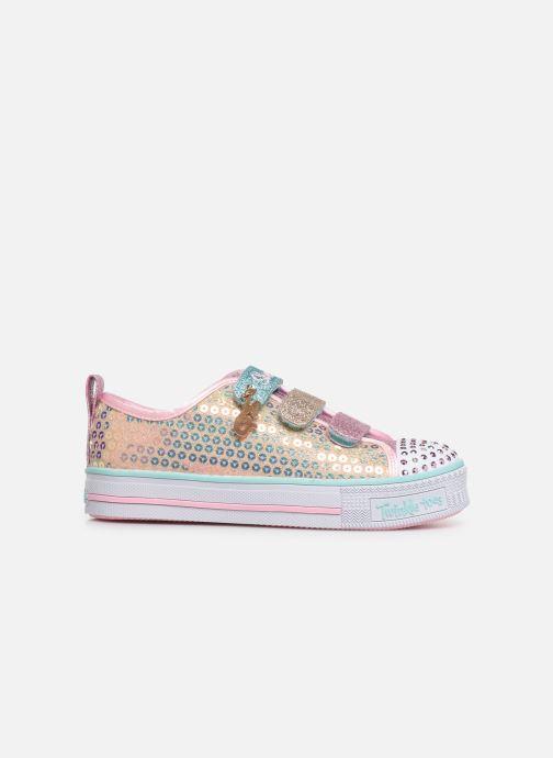 Sneakers Skechers Twinkle Lite Mermaid Magic Multicolor achterkant