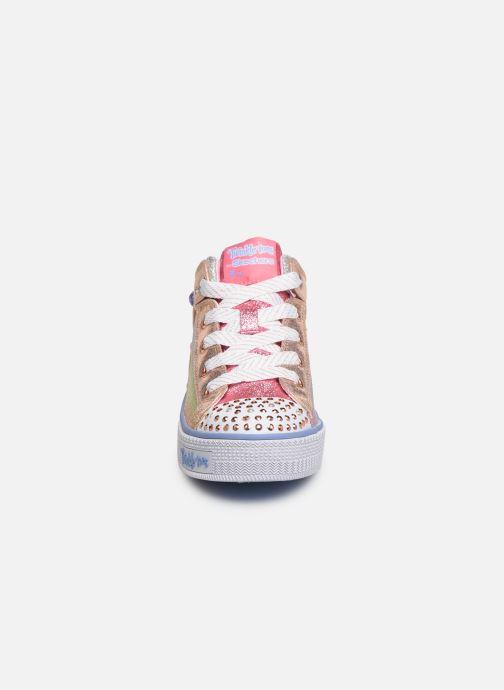 Baskets Skechers Twinkle Lite Sparkle Gem Multicolore vue portées chaussures