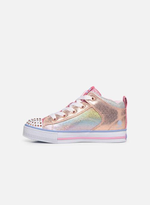 Sneakers Skechers Twinkle Lite Sparkle Gem Multicolor voorkant