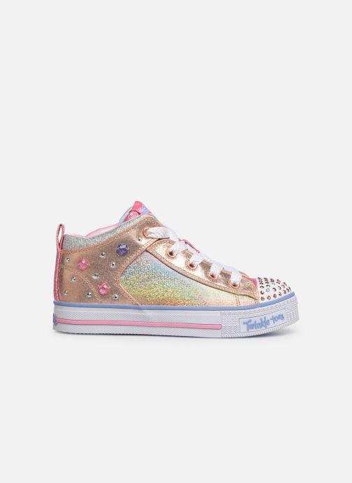 Sneakers Skechers Twinkle Lite Sparkle Gem Multicolor achterkant