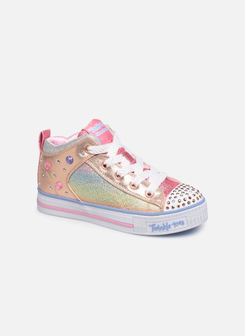 Baskets Skechers Twinkle Lite Sparkle Gem Multicolore vue détail/paire