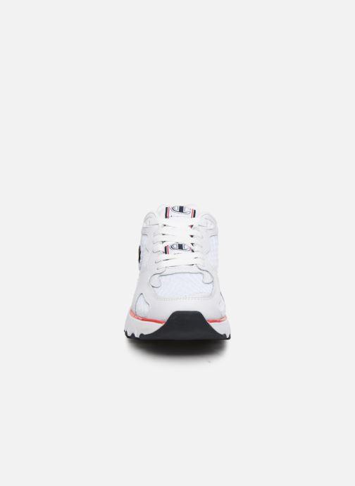 Sneakers Champion Cwa-1 Mesh/Leather M Bianco modello indossato