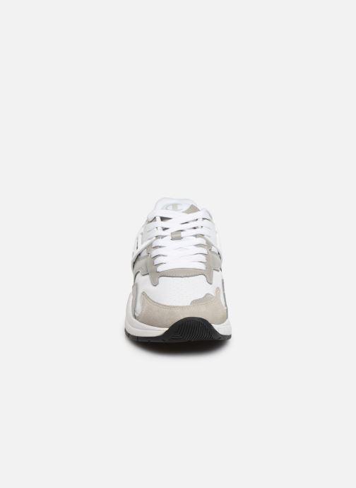 Baskets Champion Pro Leather Blanc vue portées chaussures