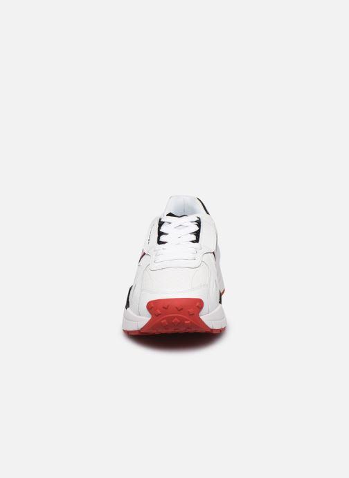 Baskets Champion Honor Leather M Blanc vue portées chaussures