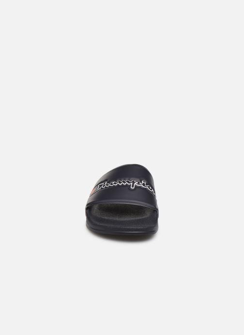 Sandalen Champion M-Evo Script M blau schuhe getragen