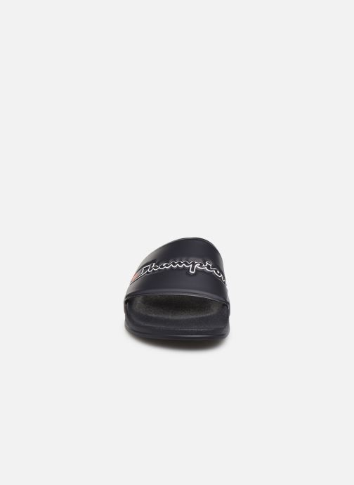 Sandales et nu-pieds Champion M-Evo Script M Bleu vue portées chaussures