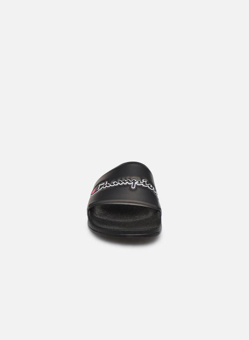 Clogs & Pantoletten Champion M-Evo Script W schwarz schuhe getragen