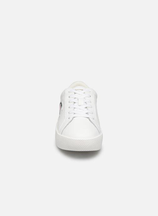 Baskets Champion Era Leather Blanc vue portées chaussures
