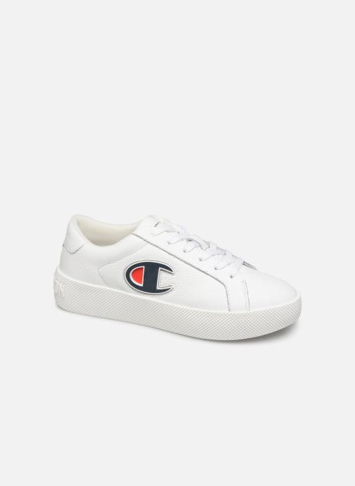 Baskets Champion Era Leather Blanc vue détail/paire