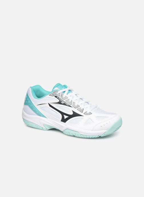 Sport shoes Mizuno Cyclone Speed 2 White detailed view/ Pair view