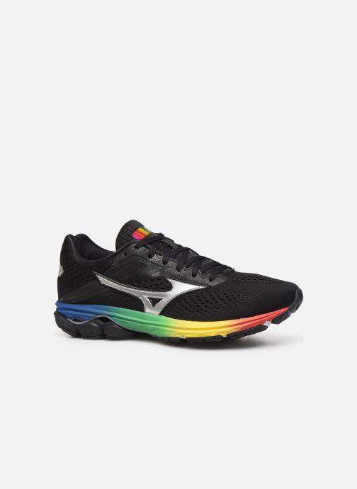 Chaussures de sport Mizuno Wave Rider 23 Noir vue derrière